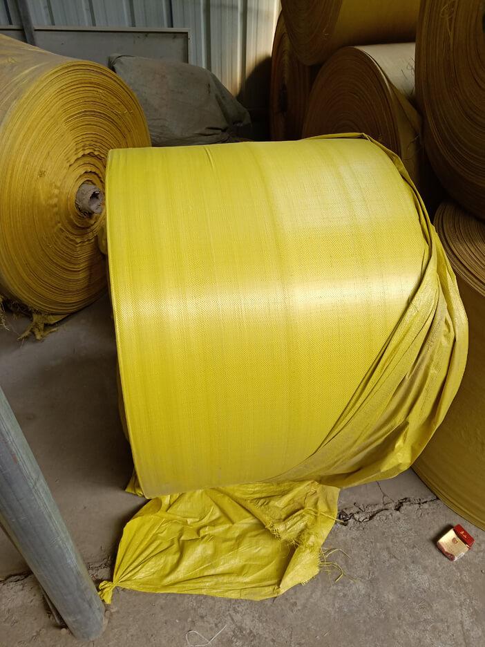 亮黄色编织袋 蛇皮袋