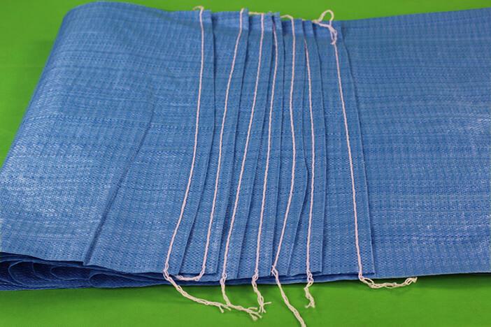 蓝色编织袋 蛇皮袋